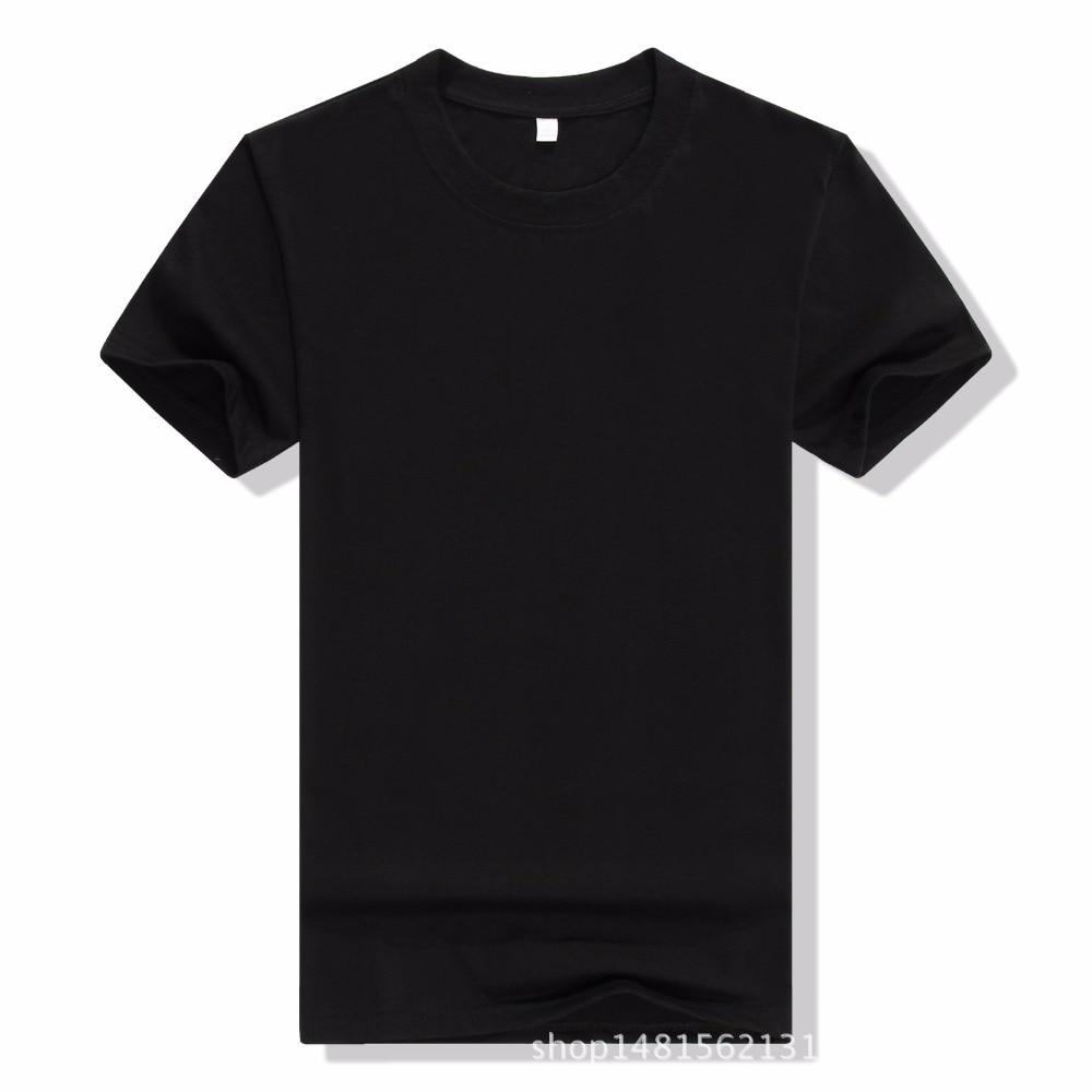 2017 New Solid color T Shirt Mens Black And White T-shirts Summer Skateboard Tee Boy Hip hop Skate Tshirt Tops Men S-3XL tees