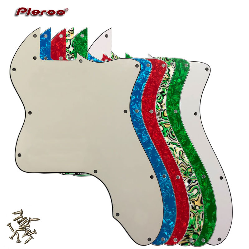 Pleroo Guitar Parts - For US FD DIY Classic Series '72 Thinline Tele  Telecaster Guitar Pickguard Blank Scratch Plate