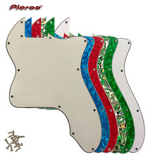 Pleroo Guitar Parts - For US FD DIY Classic Series '72 thinline Tele  Telecaster Guitar Pickguard Blank Scratch Plate relays g6b 1174p fd us g6b 1174p g6b 1174p fd us dc24v 24v