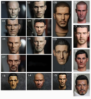 Hot Action Figure Accessory 1/6 scales male man head sculpt model toys kids diy collection Soldier head sculpt doll toy