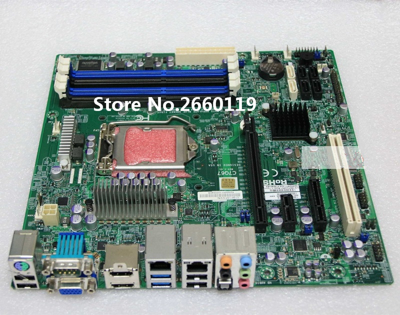 Server Motherboard For C7Q67 LGA1155 Mainboard Fully Tested