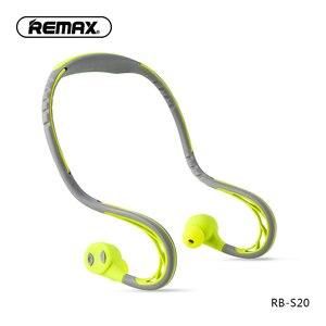 Image 3 - Remax S20 sport auricolare In ear cuffie bluetooth 4.2 auricolari Stereo Super Bass con isolamento acustico cuffie per telefono cellulare/pc