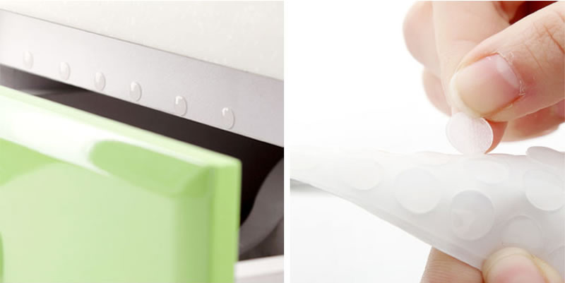 kitchen cabinet door rubber bumpers drawer clear self adhesive silicone bumper stop damper cushion surface savers drawers feet bumpe