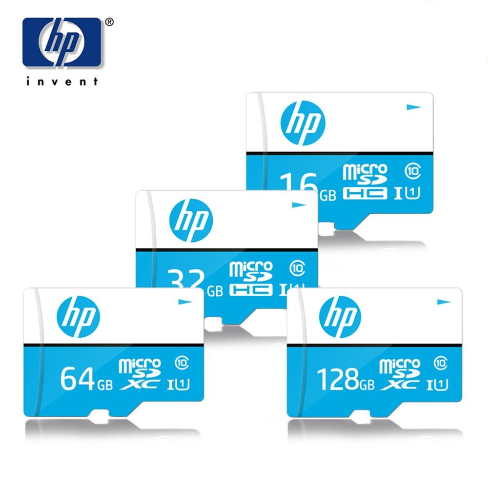 HP Micro Sd 16gb 32gb 64gb 128gb Original Microsd Sdhc/sdxc Class 10 Cartao De Memoria Mini Tarjeta Sd 32 Gb TF Memory Card
