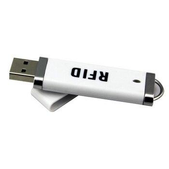 New Mini USB RFID Reader for iPad Android Mac Windows Linux 13.56 MHz NFC IC EM4100 125khz ID card reader
