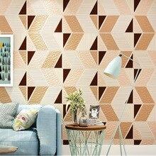 Beibehang современный в стиле минимализма нордический геометрический Алмазный Узор гостиная обои оленья кашемир спальня нетканые стены