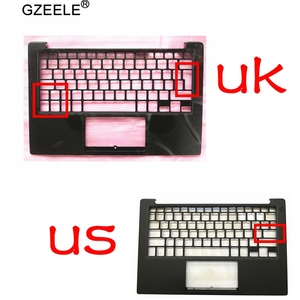 Best Buy GZEELE New For DELL XPS13 9350 9360 Palmrest Top Upper Case Keyboard Bezel Housing 43WXK 043WXK NXHVX PHF36 US UK Version Black — cnryteauy