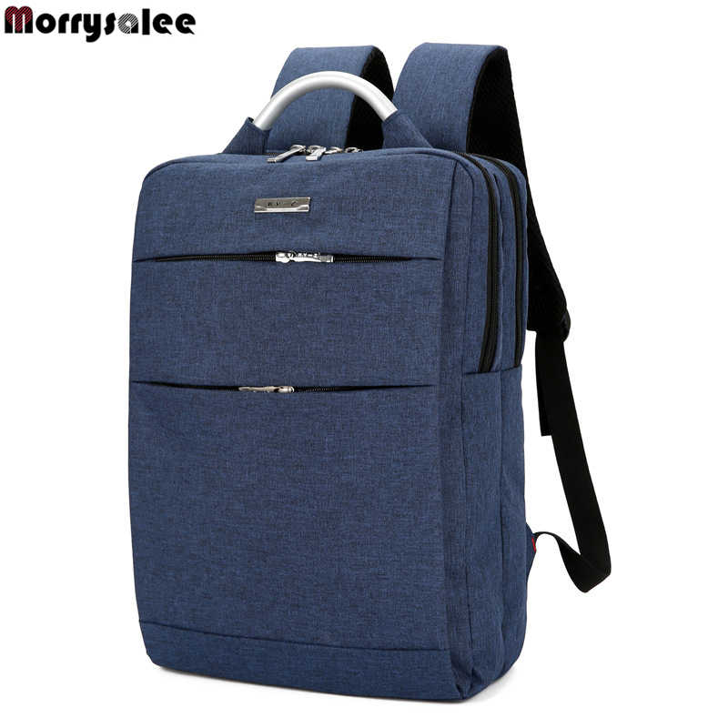 Unisex School Bag High-capacity business Casual Computer Backpack Travel Bag 2020 Korean Canvas shoulder Laptop Backpack