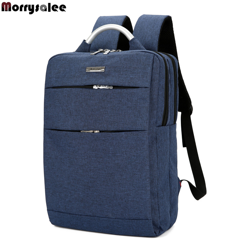 Unisex School Bag High-capacity Business Casual Computer Backpack Travel Bag Korean Canvas Shoulder Laptop Backpack