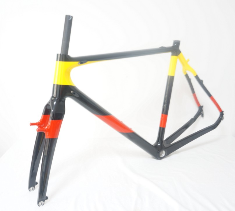 UD Carbon BB30 Cyclocross Bike Frame Di2 Fitable Size 51cm
