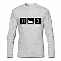 Geocaching Eat Sleep And Call Men S T Shirts Swag Depeche Mode T Shirt New Style