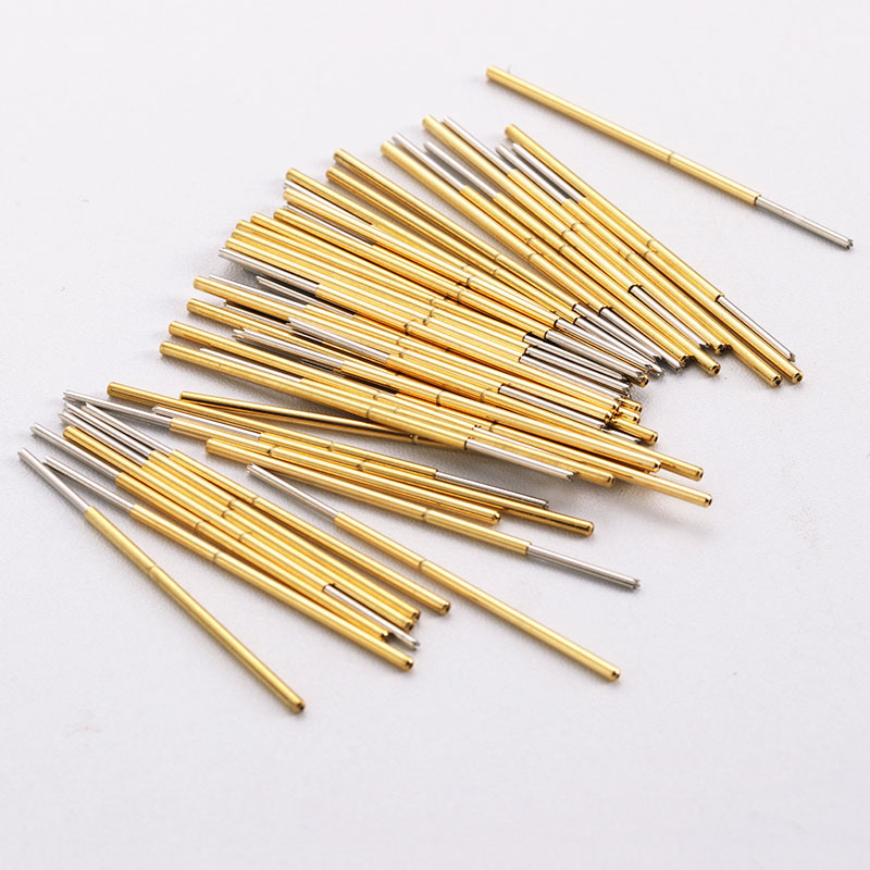 Buy PL75-Q1 Notch Copper Nickel Plating Test Probe Needle 1.02mm Thimble A Pack Of 100 Pcs Circuit Spring Test Accessories Probe for only 10 USD