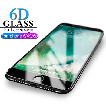 HICUTE 6D Protective Glass for iPhone 6 screen protector iPhone 6 6S 6 plus Tempered Glass on iPhone 6 6S plus screen protection