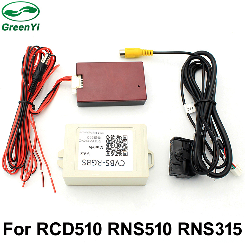 Rgbs Box Adapter V9 3 Aftermarket Rear View Camera Cvbs Av To Rgb Wiring Schematics Cvbs Wiring Diagram