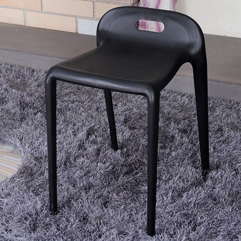 PP пластичный Штабелируя лошадь стул случайный стул