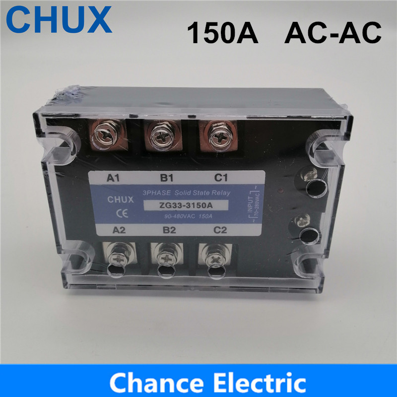 150A Solid State Relay  AC control AC 70-280VAC to 90-480VAC  SSR 150AA  3phases 150A AC-AC Solid State Relay 150A Relay150A Solid State Relay  AC control AC 70-280VAC to 90-480VAC  SSR 150AA  3phases 150A AC-AC Solid State Relay 150A Relay