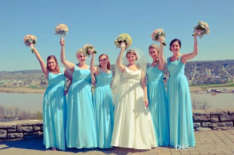 Popular Teal Blue Wedding Dresses-Buy Cheap Teal Blue Wedding ...