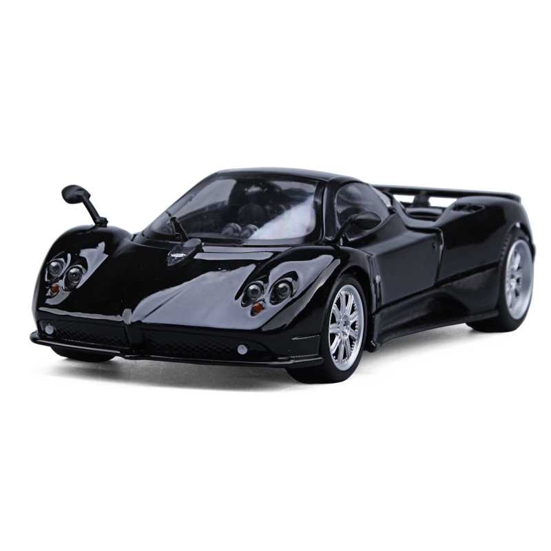 1/24 Scale Diecast Alloy Pagani Zonda Racing Sports Car Model Toys For Kids Birthday Gifts Collection Free Shipping