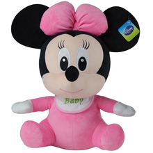 Disney Baby Winnie The Pooh Mickey Mouse Minnie Doll Baby Boys girls Stuffed Birthday Christmas Gift For Children Plush Toys