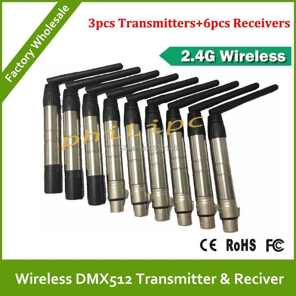 Newest Wireless DMX512 Broadcast DFI DMX512 wireless Receiver & Transmitter DMX wireless kit for DJ part light kitaplsw222cox01761ea value kit amplivox wireless audio portable buddy professional group broadcast pa system aplsw222 and clorox disinfecting wipes cox01761ea