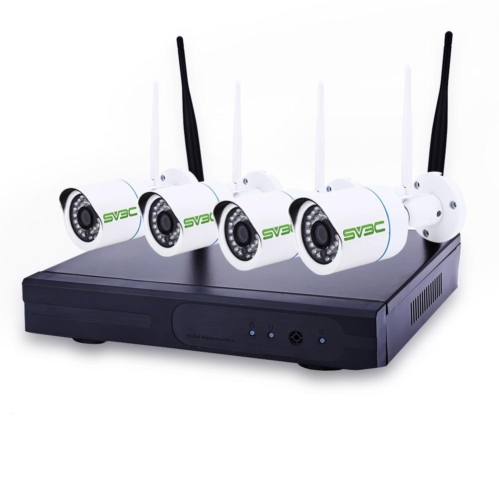 bilder für SV3C 720 P HD Startseite Surveillance Wireless Kamera Sets Wifi Ip-kamera 4-kanal 1MP WiFi NVR Netzwerk-videorecorder CCTV kamera