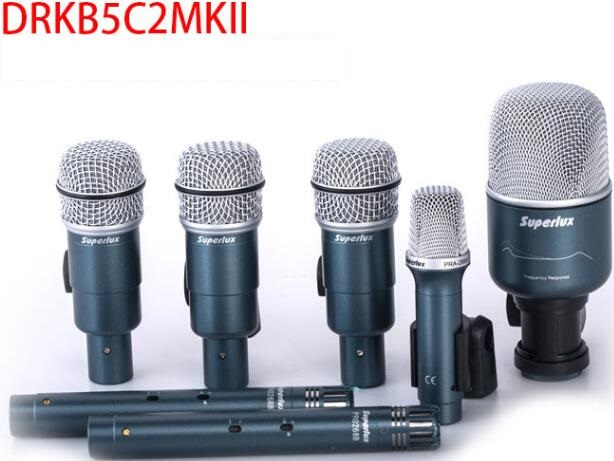 superlux drkb5c2 mkii recording level drum set drum microphone kit 7 sets in microphones from. Black Bedroom Furniture Sets. Home Design Ideas