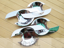 ABS chrome door handle bowl trim for SUZUKI SX4 HATCHBACK Car styling plating protective decorate cover stickers