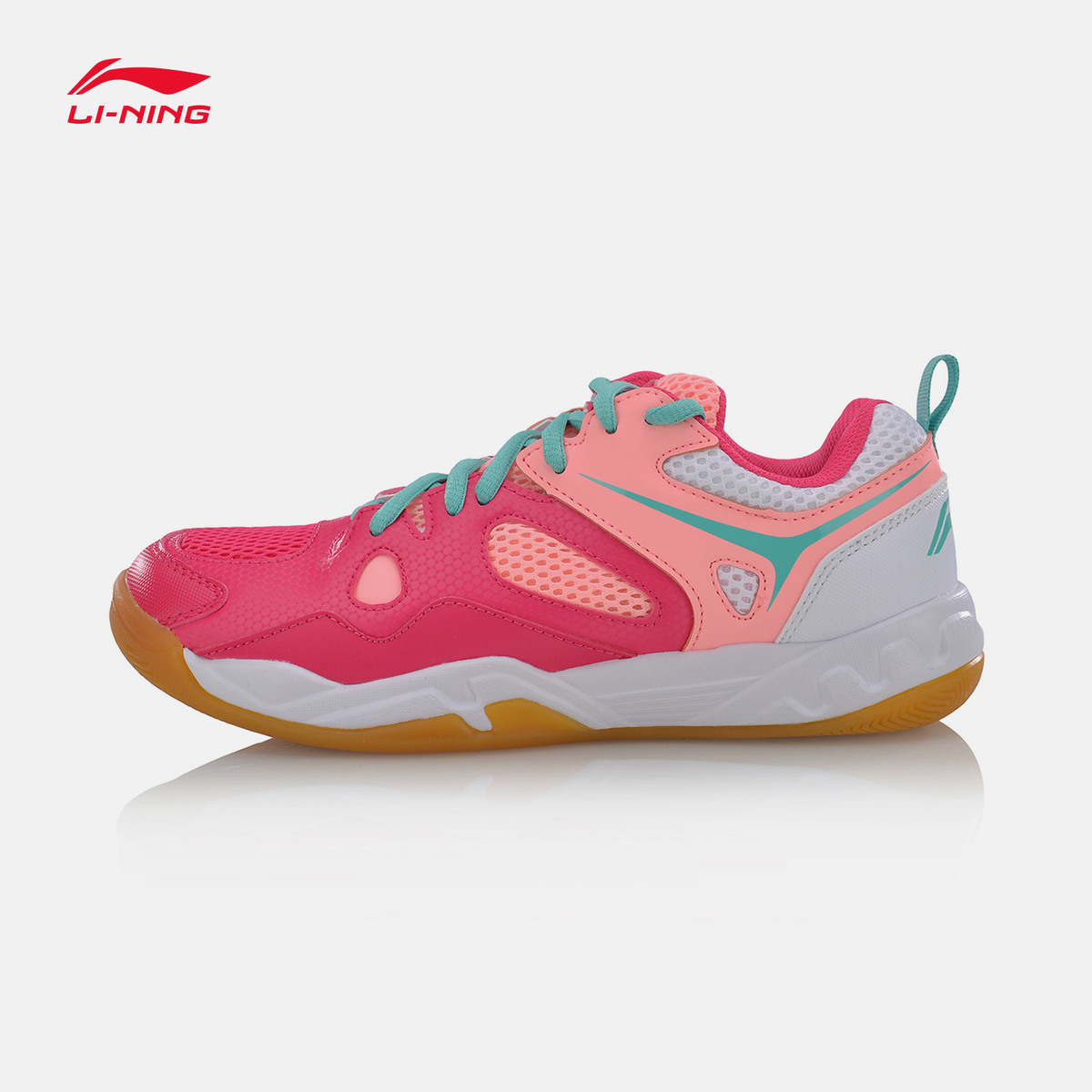 Li-Ning Women Badminton Shoes 2017 NEW Breathable Anti-slip LiNing Ladies Sports Shoes Professional Sneakers AYTM038 L715OLC li ning professional badminton shoe for women cushion breathable anti slippery lining shock absorption athletic sneakers ayal024