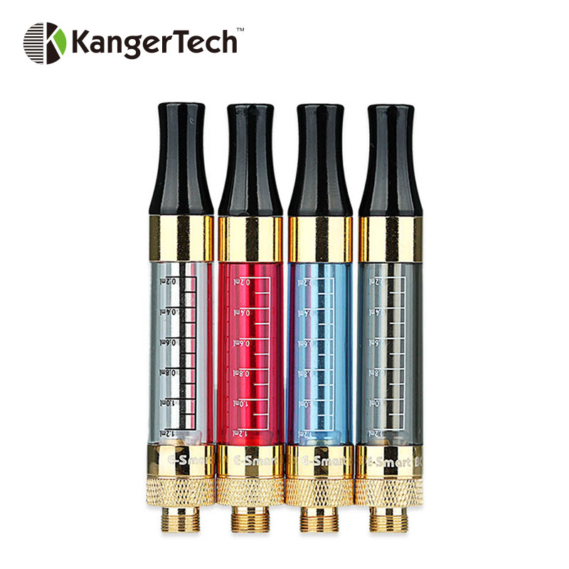 Original 5pcs Kangertech E-smart BCC Clearomizer 1.2ml W/ 1.8ohm Coil for 510/eGo/eGo-T/eGo-C/eGo-C Twist Battery BCC Vape Tank 90 corner clamp shopify