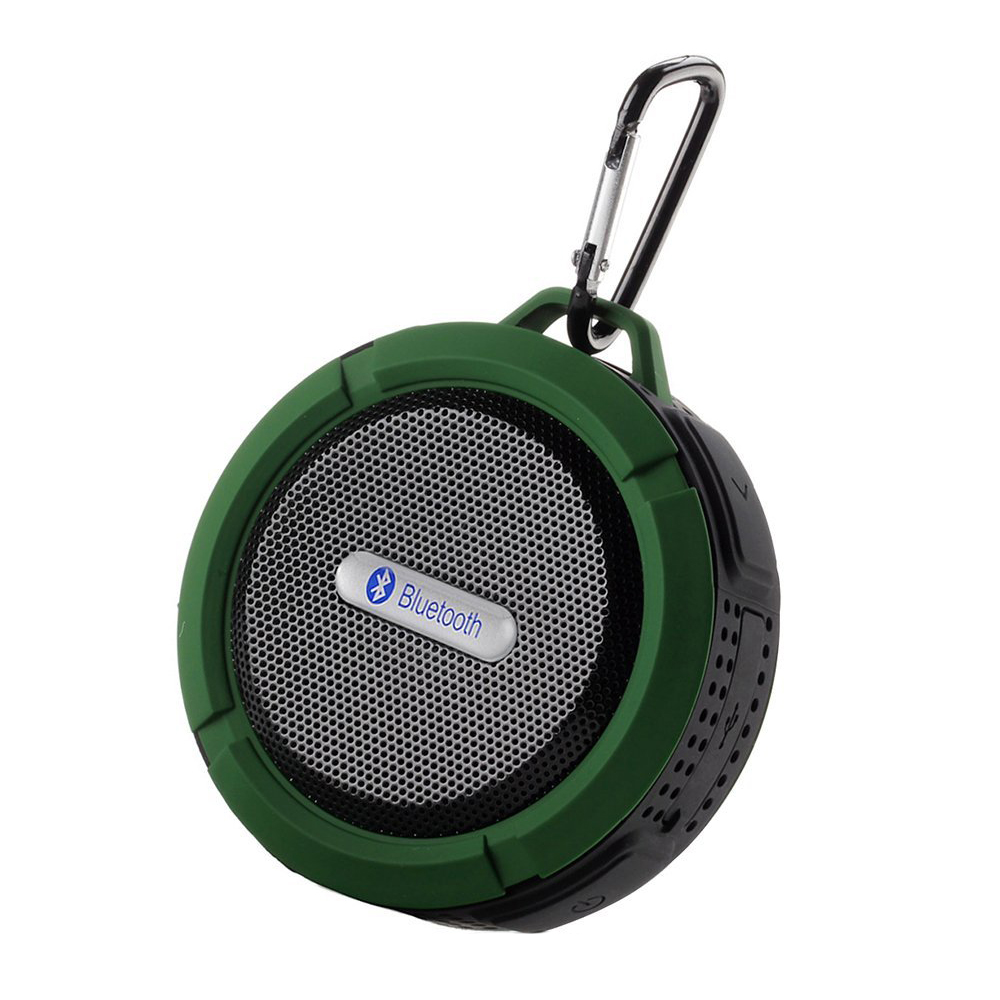 Mini Portable Speaker Wireless Waterproof Bluetooth V3.0 Rechargeable 5W - Suitable for Shower Swimming Pool Car, Office