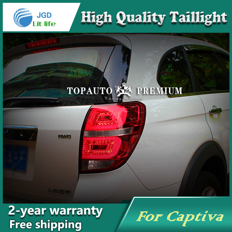 Car Styling Tail Lamp case for Chevrolet Captiva 2013 Tail Lights LED Tail Light Rear Lamp LED DRL+Brake+Park+Signal Stop Lamp car styling tail lights for chevrolet captiva 2009 2016 taillights led tail lamp rear trunk lamp cover drl signal brake reverse