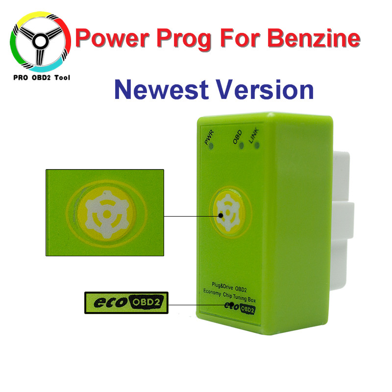 buy newest generation of eco obd2 power prog for benzine cars with reset button. Black Bedroom Furniture Sets. Home Design Ideas