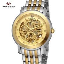 2016 новый япония движение роскошные автоматические часы мужские одеваться часы лучшие качества марка роскошные золотые скелет часы с бриллиантами