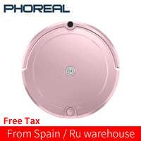 PhoReal FR-E Planned Route aspirateur Robot Vacuum Cleaner For Home Robot Vacuum Cleaner Wet And Dry HEPA Filter aspiradora
