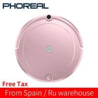 PhoReal FR-E Robot aspiradora para Robot aspirador casero mojado limpiar alfombra filtro HEPA Filtro de tanque de agua grande Aspirateur