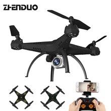 ZhenDuo játékok nagy méretű KY501 Rc Drones kamerával Selfie Drone Fpv Quadcopter ütésálló Rc helikopter játékok gyerekeknek