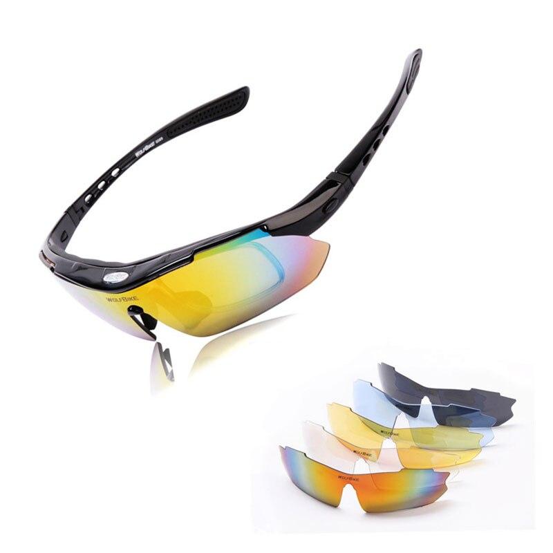 Zielstrebig Frauen Männer Professionelle Polarisierte Radfahren Brille Mountainbike Brille Outdoor-sport Fahrrad Sonnenbrille Myopie Rahmen 5 Objektiv