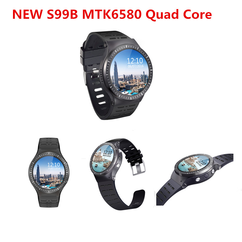Smart Watch Phone S99B Support Android 5.1 MTK6580M 1.3G Quad-cores 8GB Memory SIM Card Wifi Bluetooth GPS Smartwatch PK KW88 блокнот action fancy девушка в бейсболке a6 40 листов fn64 4120