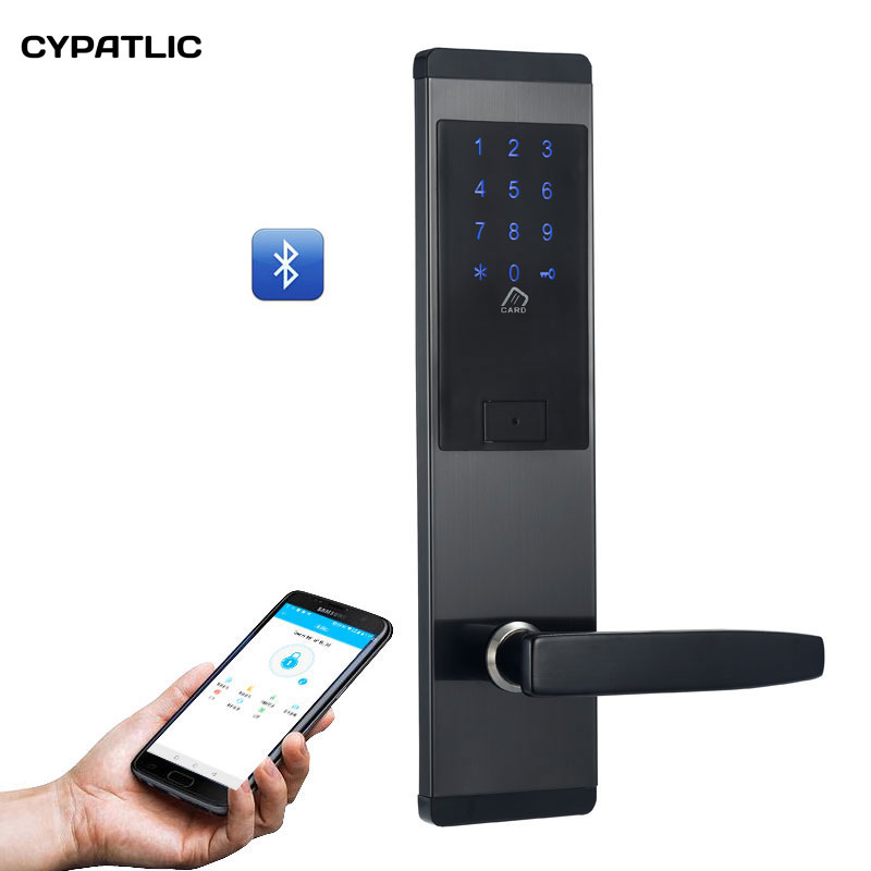 CYPATLIC Bluetooth Deadbolt Lock Smart Electronic Door Lock With APP For Home/Hotel/ApartmentCYPATLIC Bluetooth Deadbolt Lock Smart Electronic Door Lock With APP For Home/Hotel/Apartment