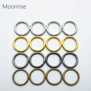 Jump-Rings Chain-Links Jewelry-Connectors 8mm 5mm 200pcs for 4mm 6mm 7mm 10mm 12mm Open