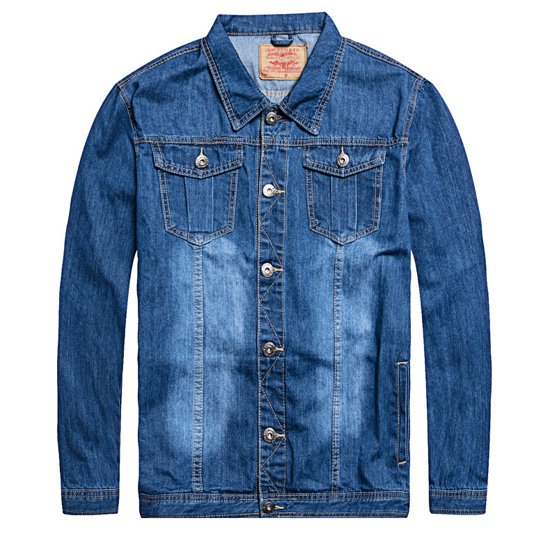 2020 Denim Jacket Men Oversized 6xl 7XL Fashion Design Spring Large Size Clothing Casual Coat Male Jean Jacket Men Denim Jackets