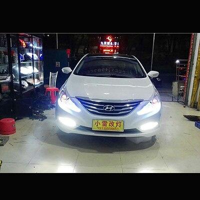 Бесплатная доставка слезоточивый свет фар Ангел глаз гибкая автомобилей стайлинг светодиодные лампы слезливые полосы света-белый с желтым поворачивая сигнала