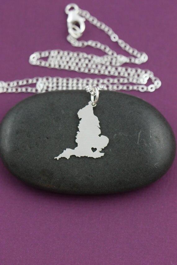 SALE England Necklace England Charm Jewelry England Pendant Great Britain UK United Kingdom European Tour Trip necklaces penda ...