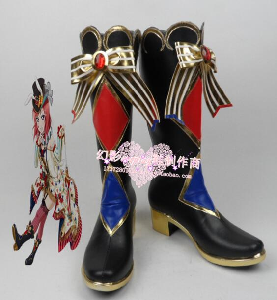 Love Live Sonoda Umi Female Hight Heel Cosplay Boots