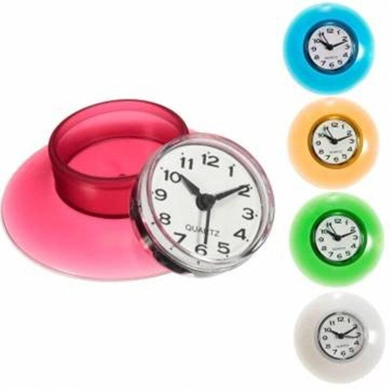 pcs bathroom waterproof mini wall clock resistant timer suction cupchina mainland: small bathroom clock