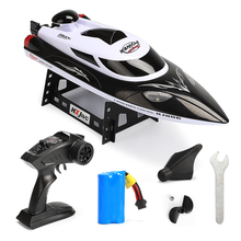 HJ806 High Speed RC racing Boat 35km/h 200m Control Distance Fast Ship With Water Cooling System