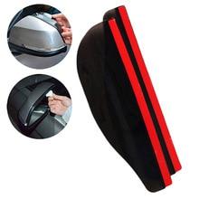 2Pcs PVC Car Rear View Mirror Sticker Rain Eyebrow Auto Side Mirror Rain Board Shield Shade Snow Guard Cover Protector