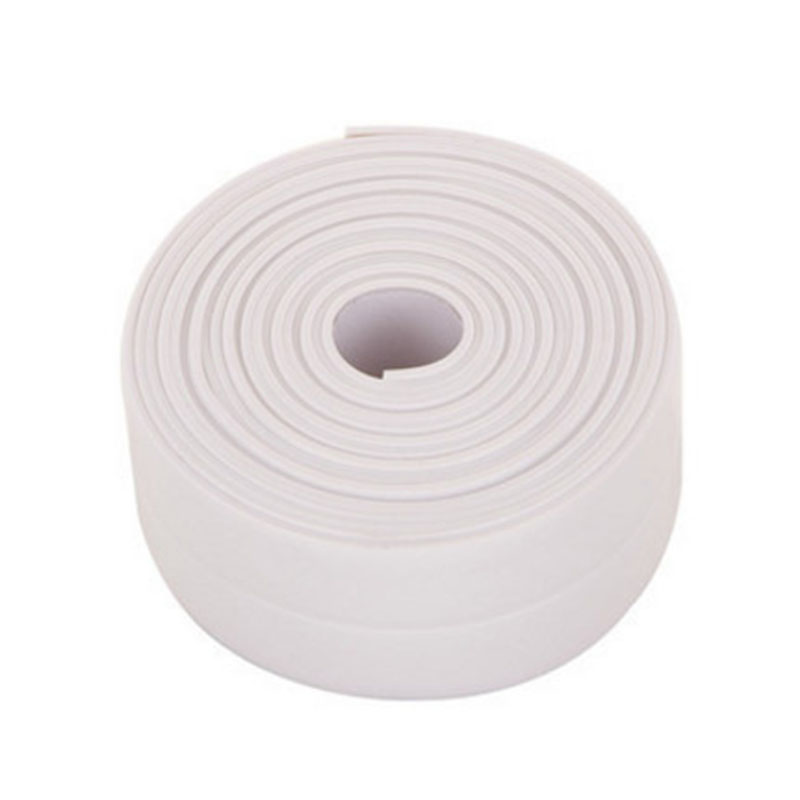 3.2m/Roll PVC Bath Wall Sealing Strip Waterproof Self Adhesive tape Kitchen Sink Basin Edge Sealing tape Four colors optional3.2m/Roll PVC Bath Wall Sealing Strip Waterproof Self Adhesive tape Kitchen Sink Basin Edge Sealing tape Four colors optional