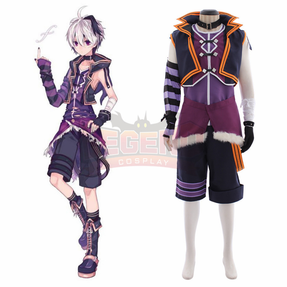 Vocaloid Flower male adult costume uniform Custom Made full set all size