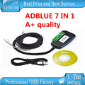High Quality Adblue Emulator 7In1 Professioanl Truck Ad blue Remove Tool Adblue 7 In 1 Support EURO 4/5 Free Shipping